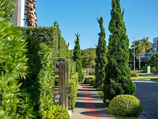 Vila Verde Paisagismo Taman Modern