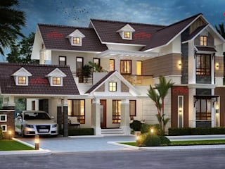 Designers in Kochi Asian style houses by CreoHomes Pvt Ltd Asian
