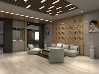Lobby Guest House Bandung:   by Maxx Details