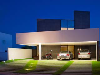 Residência Alphaville - SG: Terraços  por Eleve Arquitetura,Moderno
