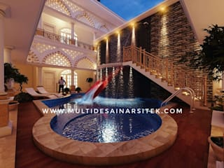 Tropische Hotels von arsitekmultidesain Tropisch