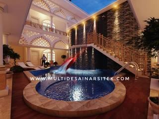 Hoteles de estilo tropical de arsitekmultidesain Tropical