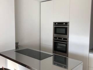 SteellArt Cocinas de estilo moderno Hierro/Acero Metálico/Plateado
