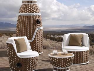 Unsere Outdoor Geflechtmöbel aus Ecolene & Viro - UV-beständig & frostfest:   von Jarke Teak & Rattan