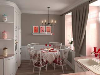 Classic style dining room by Glancing EYE - Asesoramiento y decoración en diseños 3D Classic