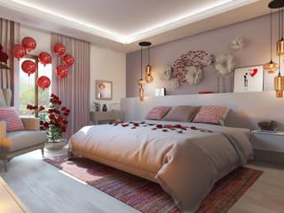 Modern style bedroom by Glancing EYE - Asesoramiento y decoración en diseños 3D Modern