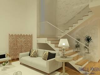 Residência em condomínio Itatiba/Louveira por Daniela Ponsoni Arquitetura Moderno