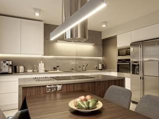 Grzegorz Popiołek Projektowanie Wnętrz Kitchen