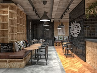 Cafe Boğaziçi CRK İÇ MİMARLIK İskandinav