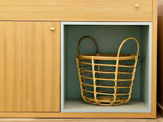 Pó de Arroz Lojas e Espaços comerciais escandinavos por Designer's Mint Studio Escandinavo