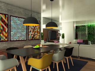Quinta la Trinidad Comedores de estilo moderno de Proyectos C&H C.A Moderno