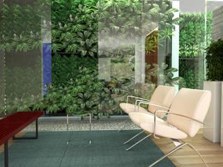 Quinta la Trinidad Salas de estilo moderno de Proyectos C&H C.A Moderno