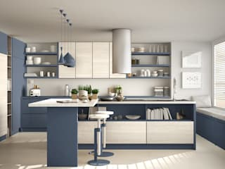 modular kitchen designs in hyderabad:   by Nxt Dream Interiors