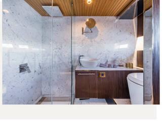 Phòng tắm theo Lamına Stone, Hiện đại