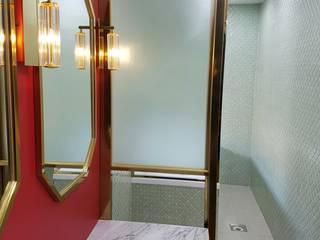 캐러멜라운지 Nowoczesny korytarz, przedpokój i schody