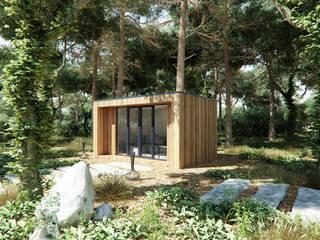 FERIENHAUS NR 1 Isladesign Holzhaus Holz