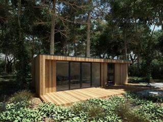 SOMMERHAUS NR 1+ Isladesign Holzhaus Holz