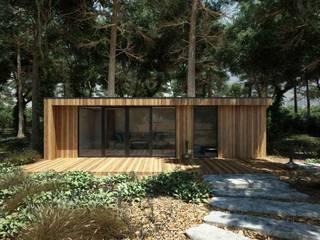SOMMERHAUS NR 1+ Isladesign Bungalow Holz