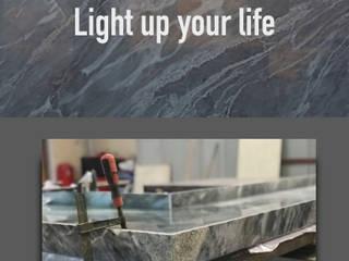 Modern kitchen by Lamına Stone Modern