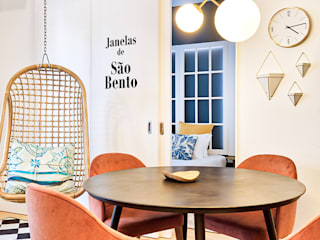 ShiStudio Interior Design Scandinavian style dining room