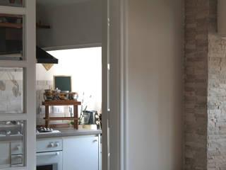 Cocinas pequeñas de estilo  por Caleidoscopio Architettura & Design, Rústico