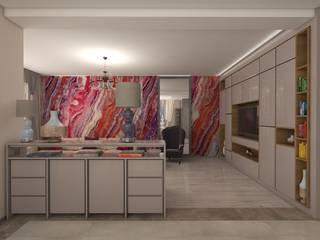 Семья Света утвержденный Столовая комната в стиле минимализм от Дизайнер Темненко Ольга Минимализм