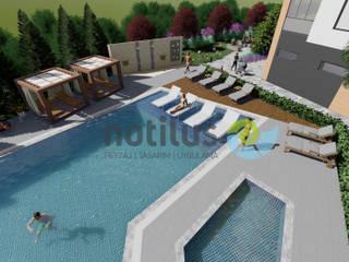 Fly Vizyon / Mersin Modern Bahçe Notilus Peyzaj Tasarım ve Uygulama Modern