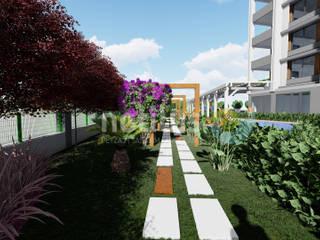 Konut Projesi Mersin Akdeniz Bahçe Notilus Peyzaj Tasarım ve Uygulama Akdeniz