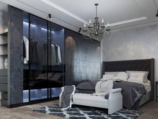 Проектно-строительная компания УралДеко의  침실, 에클레틱 (Eclectic)