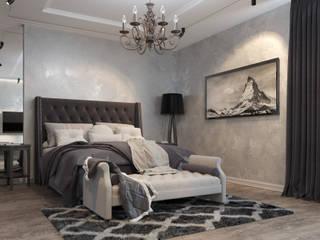 Phòng ngủ theo Проектно-строительная компания УралДеко, Chiết trung