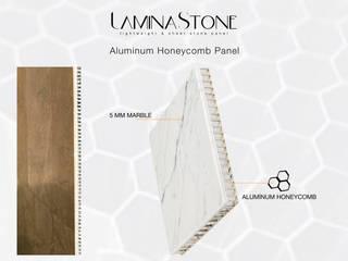 現代房屋設計點子、靈感 & 圖片 根據 Lamına Stone 現代風