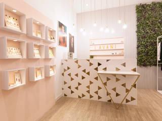 Mostrador diseñado a medida: Espacios comerciales de estilo  de Dimeic