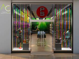 Tienda Deportiva CC Paque Cerro Verde Casas modernas de Proyectos C&H C.A Moderno