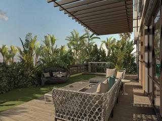 KG - Eastown Modern Garden by STUDIO PARADIGM Modern