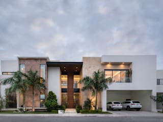 CASA CV Casas modernas de MORRIS TORRE Arquitectos Moderno