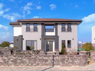 윤성하우징 Casas estilo moderno: ideas, arquitectura e imágenes