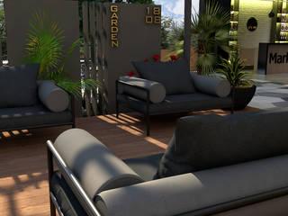 Garden Market:  de estilo tropical por Proyectos C&H C.A, Tropical