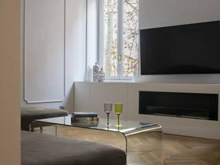 Casa PARIOLI Soggiorno moderno di Arabella Rocca Architettura e Design Moderno