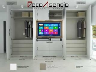 Proyecto estancia (Dormitorio) en Centro de Sevilla :  de estilo  de Deco Asensio