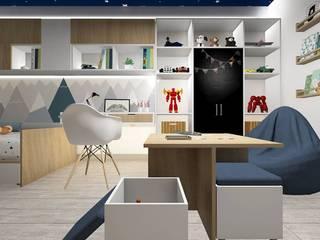 Remodelación dormitorio infantil:  de estilo  por Lucero Pardo M. - Diseñadora de Interiores