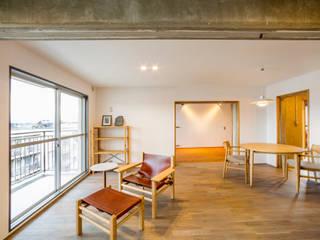 โดย 大畠稜司建築設計事務所 โมเดิร์น