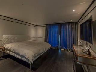 삼성동 쌍용 플래티넘 아파트 모던스타일 침실 by 모노웍스 모던