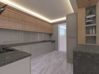 ASN İç Mimarlık  – Mutfak:  tarz Mutfak üniteleri
