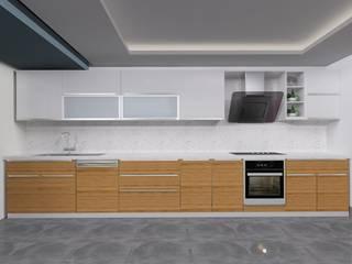 ASN İç Mimarlık  – Mutfak 3d çizim:  tarz Mutfak