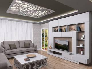 ASN İç Mimarlık  – Antalya Lara daire:  tarz Oturma Odası