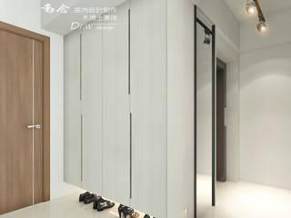 玄關:  走廊 & 玄關 by 木博士團隊/動念室內設計制作