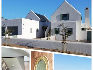 Mediterranean style houses by Abré Marais Architects Mediterranean