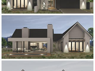 Modern houses by Abré Marais Architects Modern