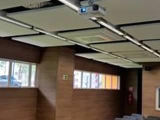 Выставочные павильоны в стиле модерн от KENP - soluções em áudio e vídeo Модерн