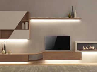 Progettazione d'interni Appartamento a Varese Silvana Barbato Soggiorno moderno